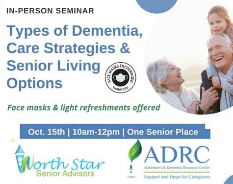 Types of dementia care strategies for seniors