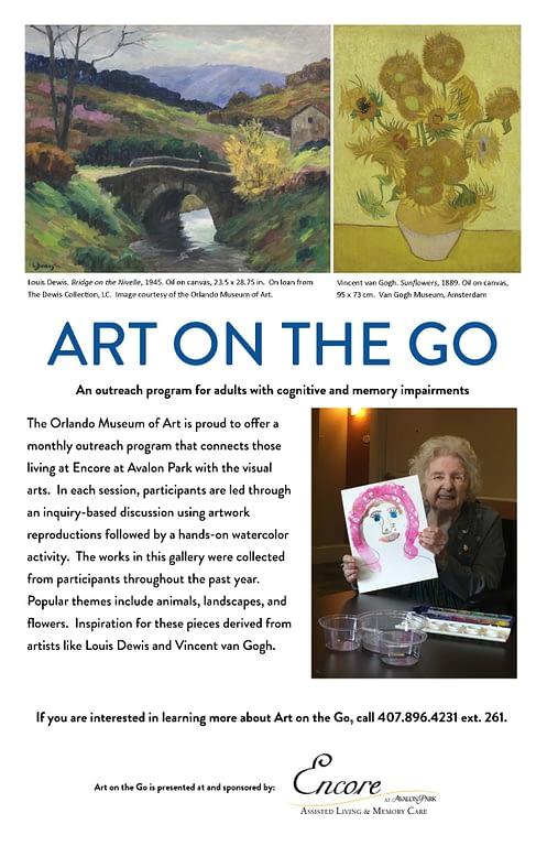Art on the Go flyer