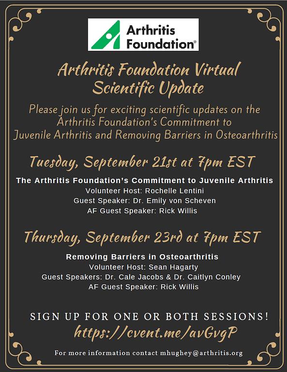 Arthritis Foundation Event