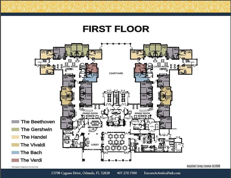 First Floor, floor plan